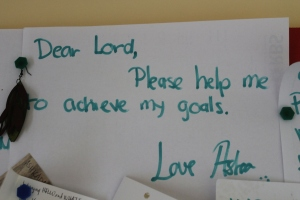 Dear Lord, Please help me to achieve my goals, Love Asha :)