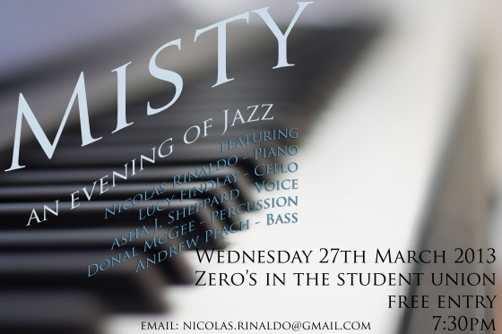MISTY - an evening of Jazz